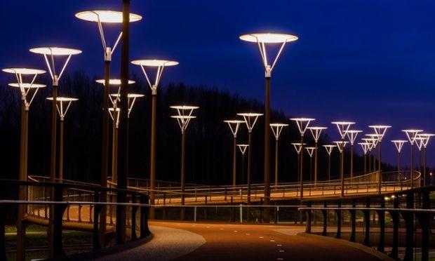 Puente para bicicletas de Zoetermeer, Países Bajos