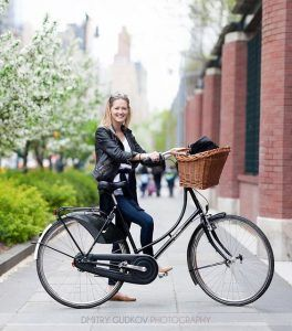 #BikeNYC Portrait: Carina Jensen Photo by Dmitry Gudkov on Flickr