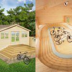 ¿Un velódromo en tu jardín?