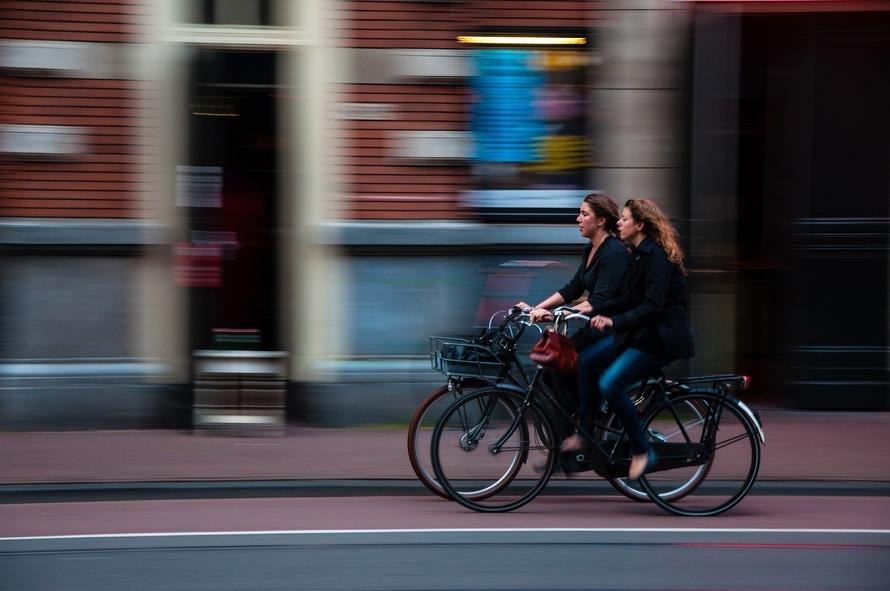 La postura ideal para montar en bicicleta