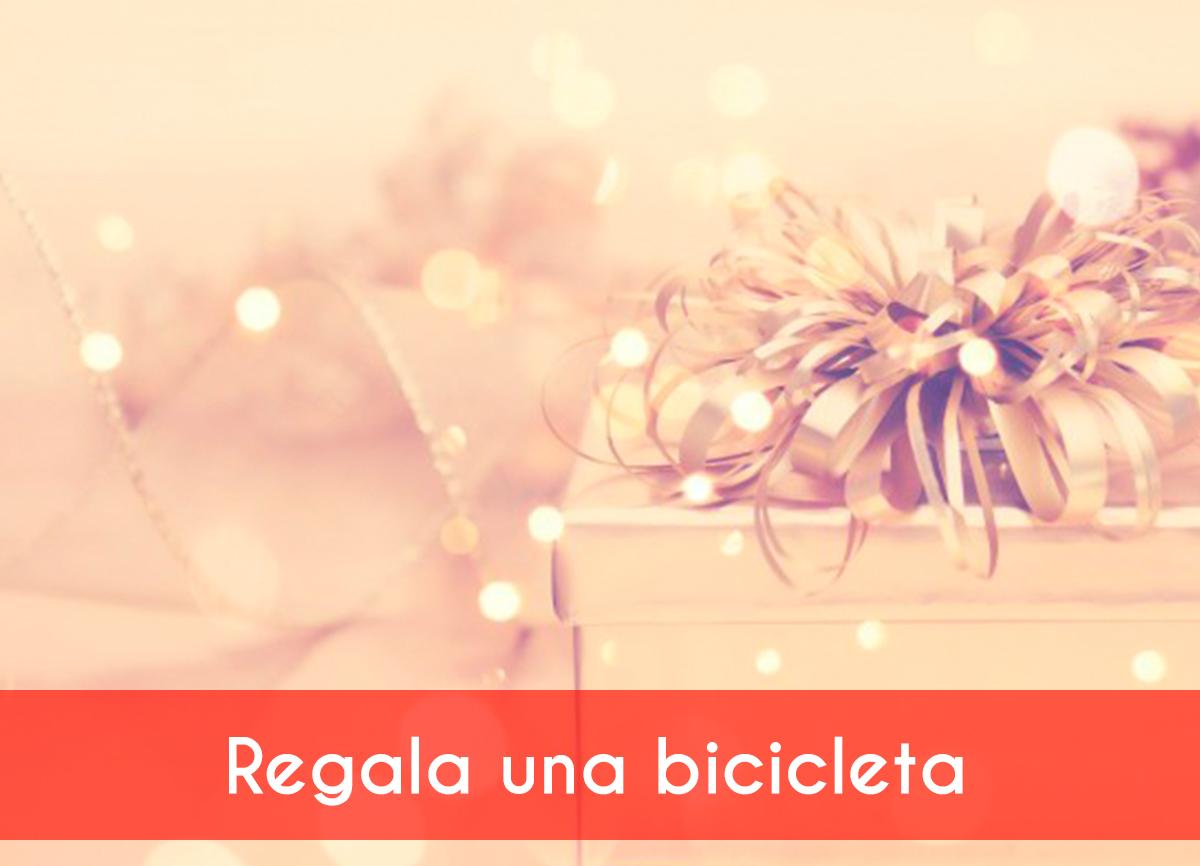 Compra bicicletas para regalar esta Navidad