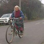 La abuela de la bicicleta