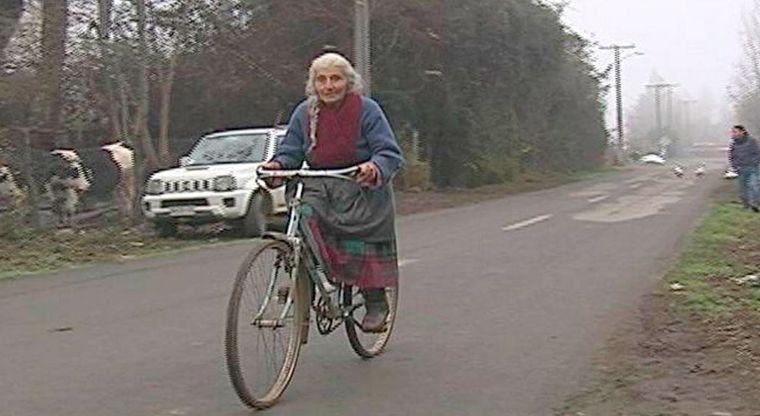 La abuela que va en bicicleta todos los días