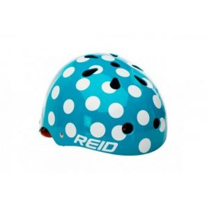 Comprar Casco para bicicleta azul moteado REID