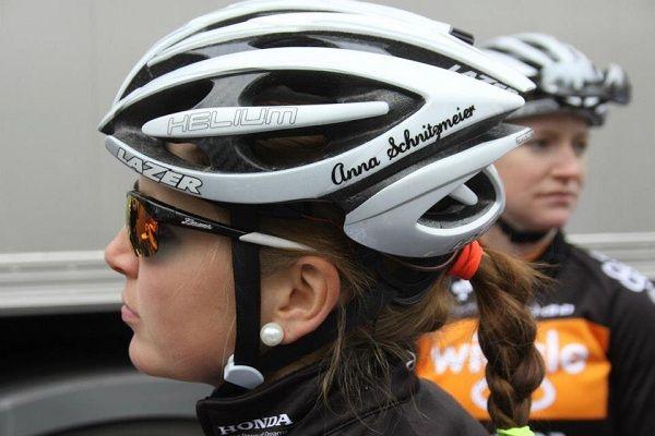 casco bicicletas mujer
