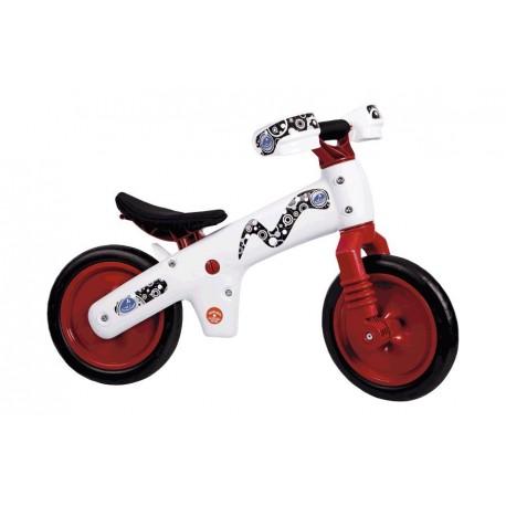 Bicicleta B-Bip Blanco-Rojo