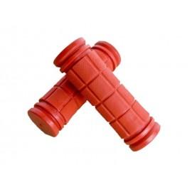 Puños goma rojos