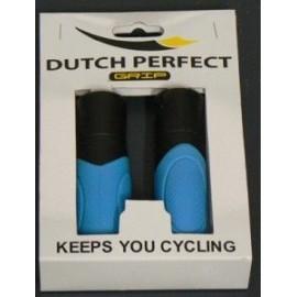 Puños bici color azul