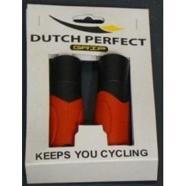 Puños bici color naranja