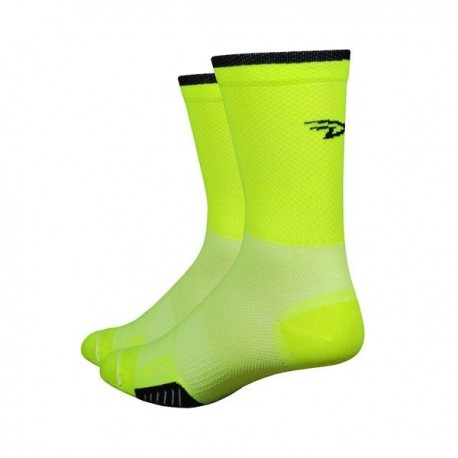Calcetines Defeet Cyclismo 5″ Hi-Vis Yellow