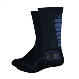 Calcetines Defeet Levitator Trail 6″ Bonehead