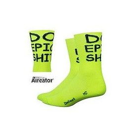 Calcetines Defeet Aireator – Hi Top 5″ D-Logo Stripers