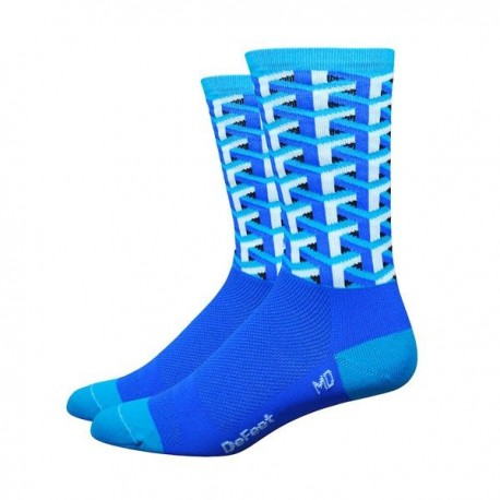 Calcetines Defeet Aireator – Hi Top 5″ Fast Times