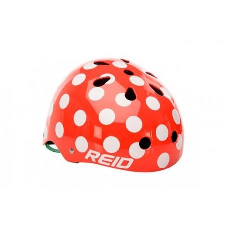Casco bicicleta Verde Moteado Reid
