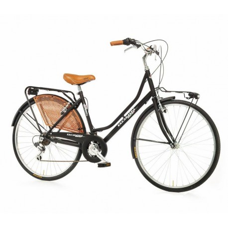 "Bici paseo OLANDA 26"" 6V negro"