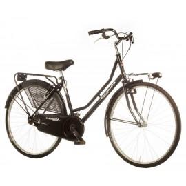 "Bici paseo OLANDA 26"" 1V negro"