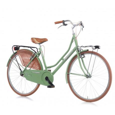 """Bici paseo OLANDA 26"""" 1V verde"""