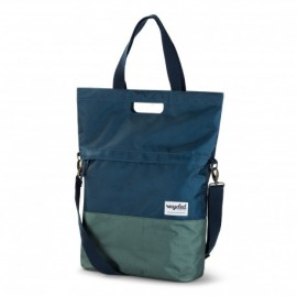Alforja Individual Reciclada Azul/Verde de Urban Proof