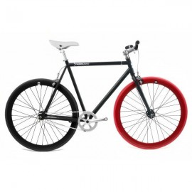 Fabric Bike MATTE BLACK & RED