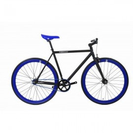 Fabric Bike MATTE BLACK & BLUE
