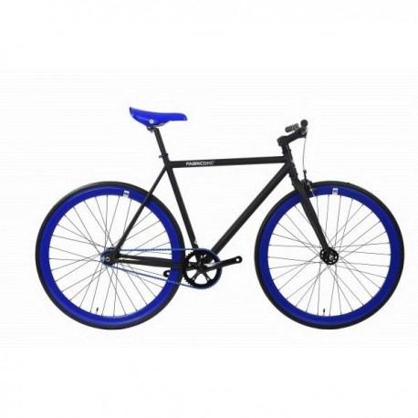 Fabric Bike MATTE BLACK & BLUE