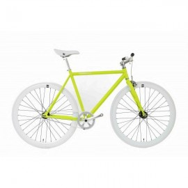 Fabric Bike MATTE GREEN & WHITE