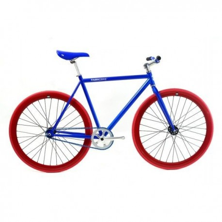 Fabric Bike BLUE & RED