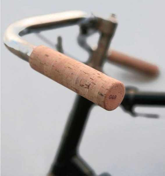 puños bici corcho