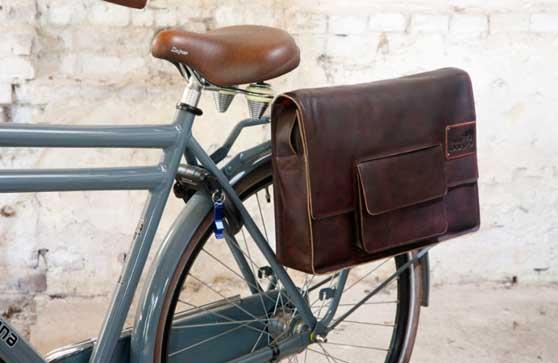 alforja bici ciudad