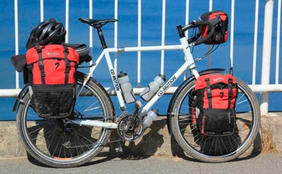 alforja bici cicloturismo