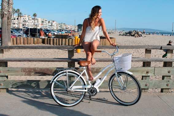 bici cruiser chica