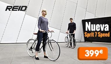 bicicletas de paseo REID